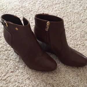 Tory Burch Leather Booties